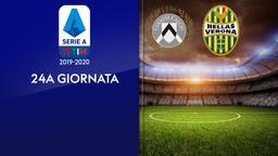 Udinese - Verona. 24a g.