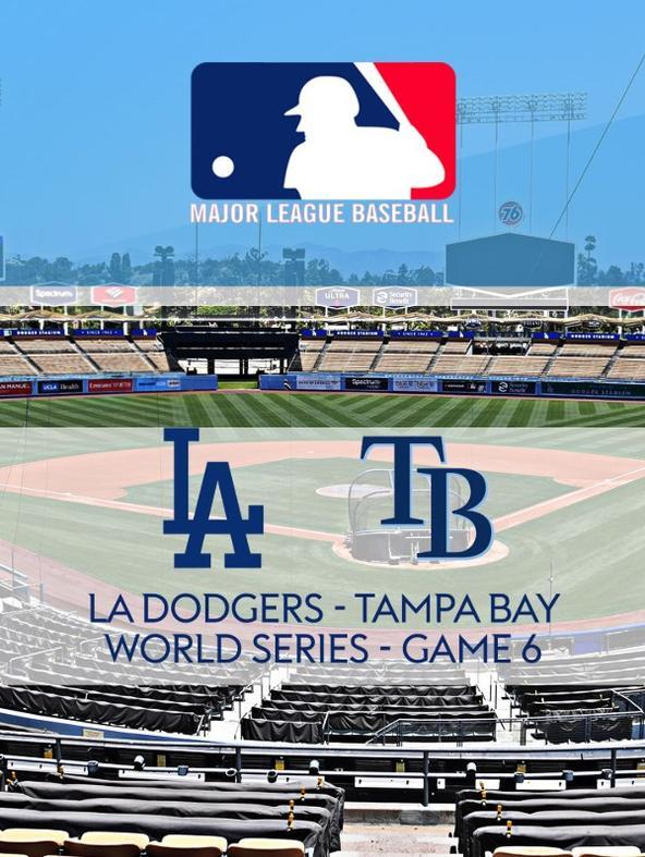 MLB: LA Dodgers - Tampa Bay