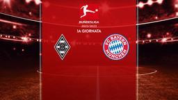 Borussia Moenchengladbach - Bayern Monaco