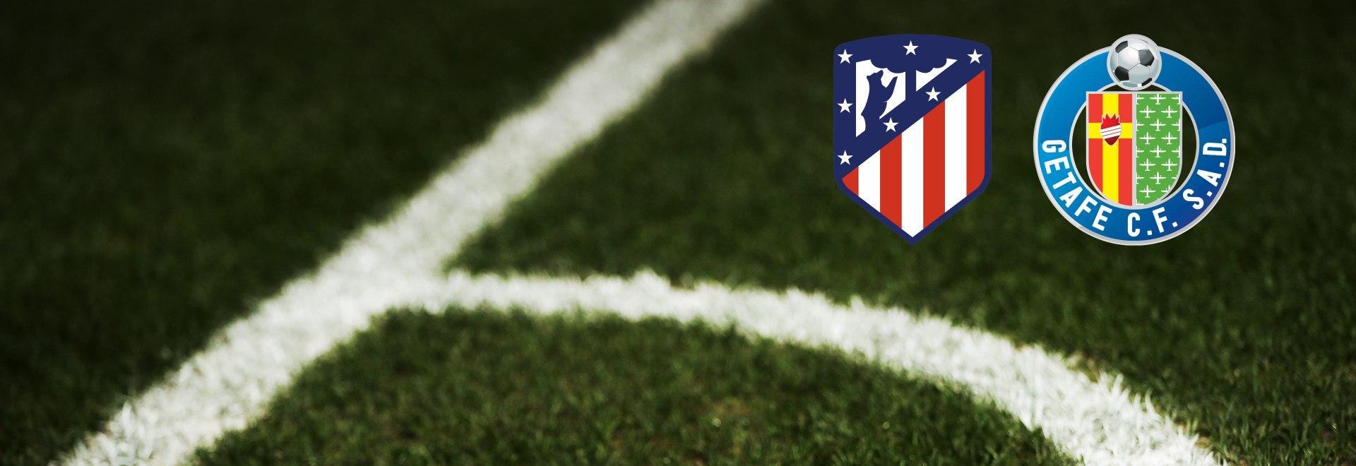 Atletico Madrid - Getafe. 16a g.