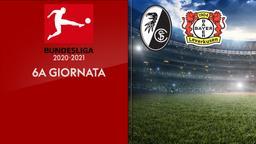 Friburgo - Bayer Leverkusen. 6a g.