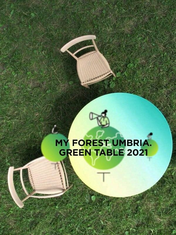 My ForestUmbria. Green Table 2021
