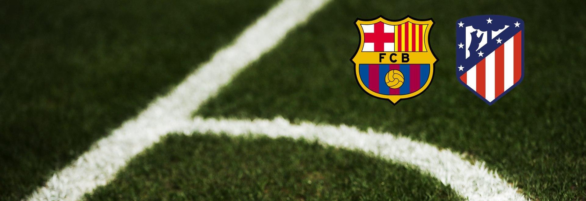 Barcellona - Atletico M. 33a g.