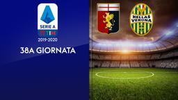 Genoa - Verona. 38a g.