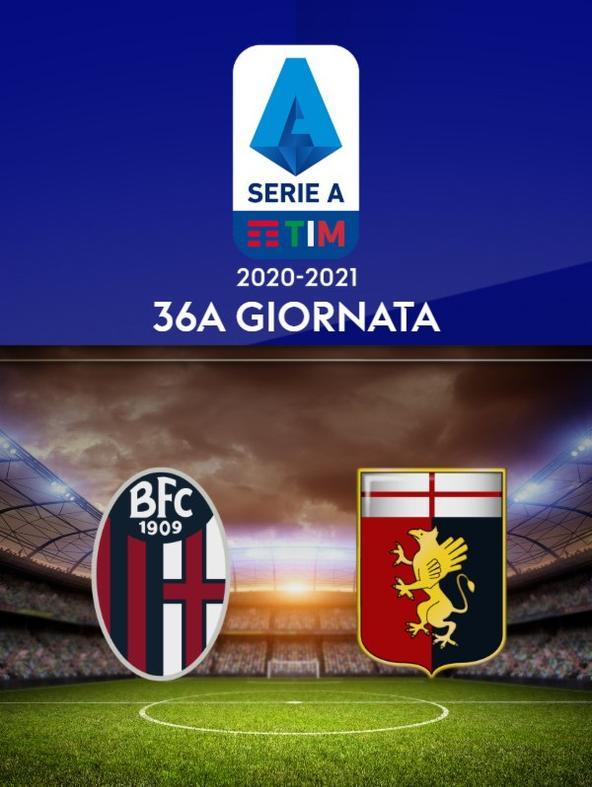 Bologna - Genoa. 36a g.