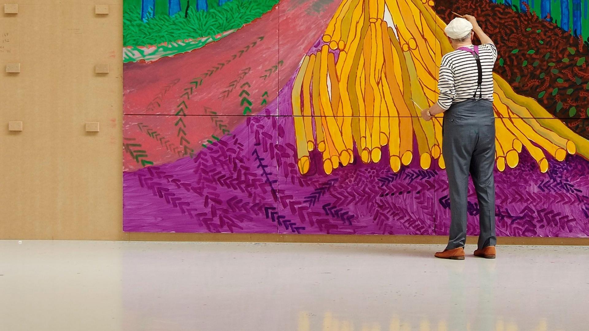 Sky Arte HD David Hockney dalla Royal Academy of...