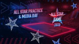 All Star Practice & Media Day