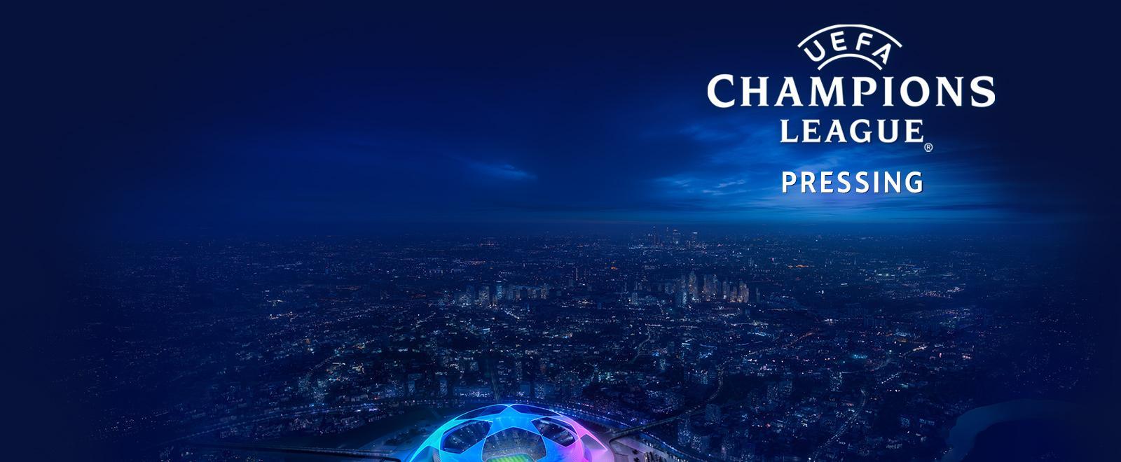 Pressing champions league - 20