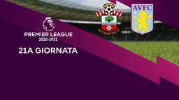 Southampton - Aston Villa. 21a g.