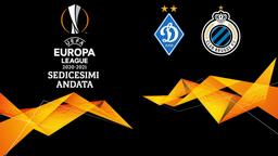 Dinamo Kiev - Brugge. Sedicesimi Andata