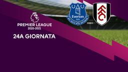 Everton - Fulham. 24a g.