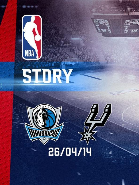 NBA: Dallas - San Antonio 26/04/14