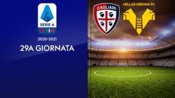 Cagliari - Verona. 29a g.