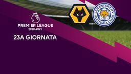 Wolverhampton - Leicester. 23a g.