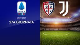 Cagliari - Juventus. 27a g.