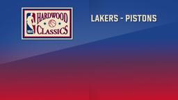 Lakers - Pistons