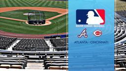 Atlanta - Cincinnati. NL Wild Card Series. Game 1