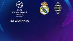 Real Madrid - Borussia Moenchengladbach. 6a g.