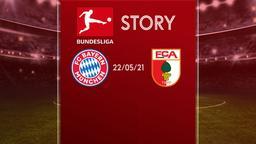 Bayern Monaco - Augsburg 22/05/21