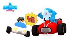 La corsa con le auto