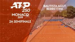 Bautista Agut - Berrettini. 2a semifinale