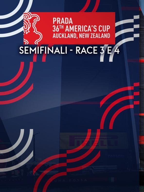 Vela: Prada America's Cup    (diretta)