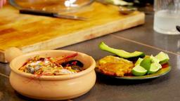 Ajlaco Santafereno / Empanada de queso