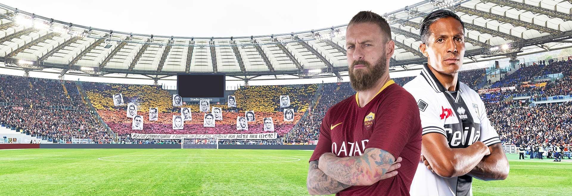 Roma - Parma. 38a g.