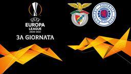 Benfica - Rangers. 3a g.