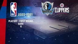 Dallas - LA Clippers. Playoff - First Round. Gara 6
