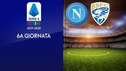 Napoli - Brescia. 6a g.