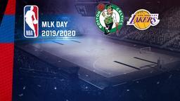 Boston - LA Lakers. MLK Day