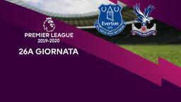 Everton - Crystal Palace. 26a g.