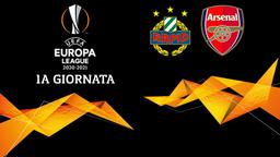 Rapid Vienna - Arsenal. 1a g.