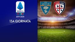 Lecce - Cagliari. 13a g.