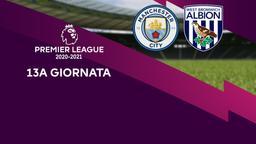 Manchester City - West Bromwich Albion. 13a g.