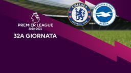 Chelsea - Brighton & Hove Albion. 32a g.