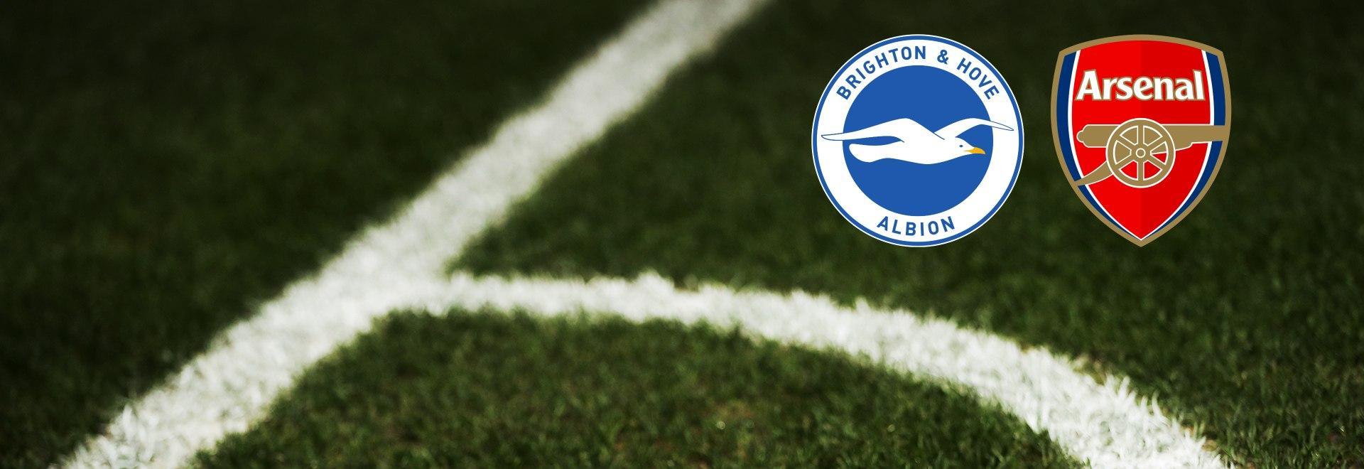 Brighton & Hove Albion - Arsenal. 1a g.