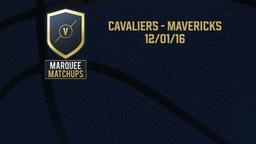 Cavaliers - Mavericks 12/01/16