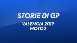 Valencia 2019. Moto2. Gara