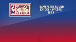 Knicks - Pacers 1993. Game 4. 1st Round