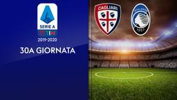 Cagliari - Atalanta. 30a g.