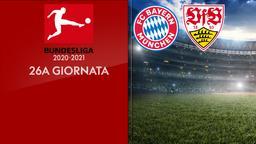 Bayern Monaco - Stoccarda. 26a g.