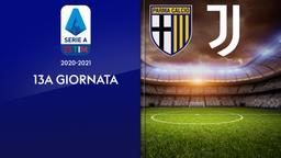Parma - Juventus. 13a g.