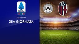 Udinese - Bologna. 35a g.