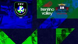 Trentino - Perugia. Semifinale