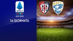 Cagliari - Brescia. 1a g.