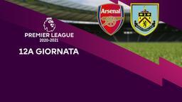 Arsenal - Burnley. 12a g.