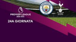 Manchester City - Tottenham. 24a g.