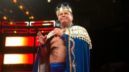 """La corona di Jerry """"The King"""" Lawler"""